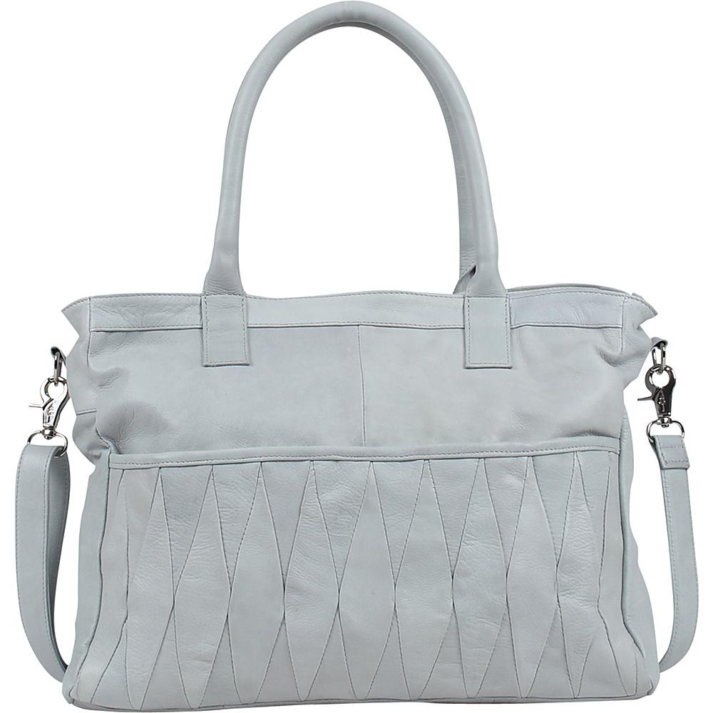 Day Mood Hale Satchel Steel Day Mood Leather Handbags