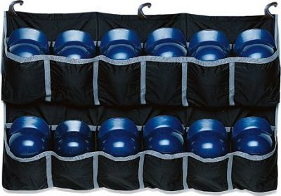Easton Team Hanging Helmet Bag Black - Easton Gym Bags