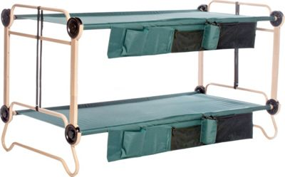 Disc-O-Bed CamOBunk Xlarge 2 Organizers 2 Leg Extensions Green - Disc-O-Bed Outdoor Accessories