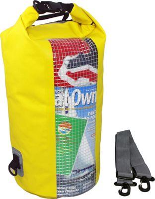 Roc Gear 20L Dry Tube Window Yellow - Roc Gear Outdoor Accessories