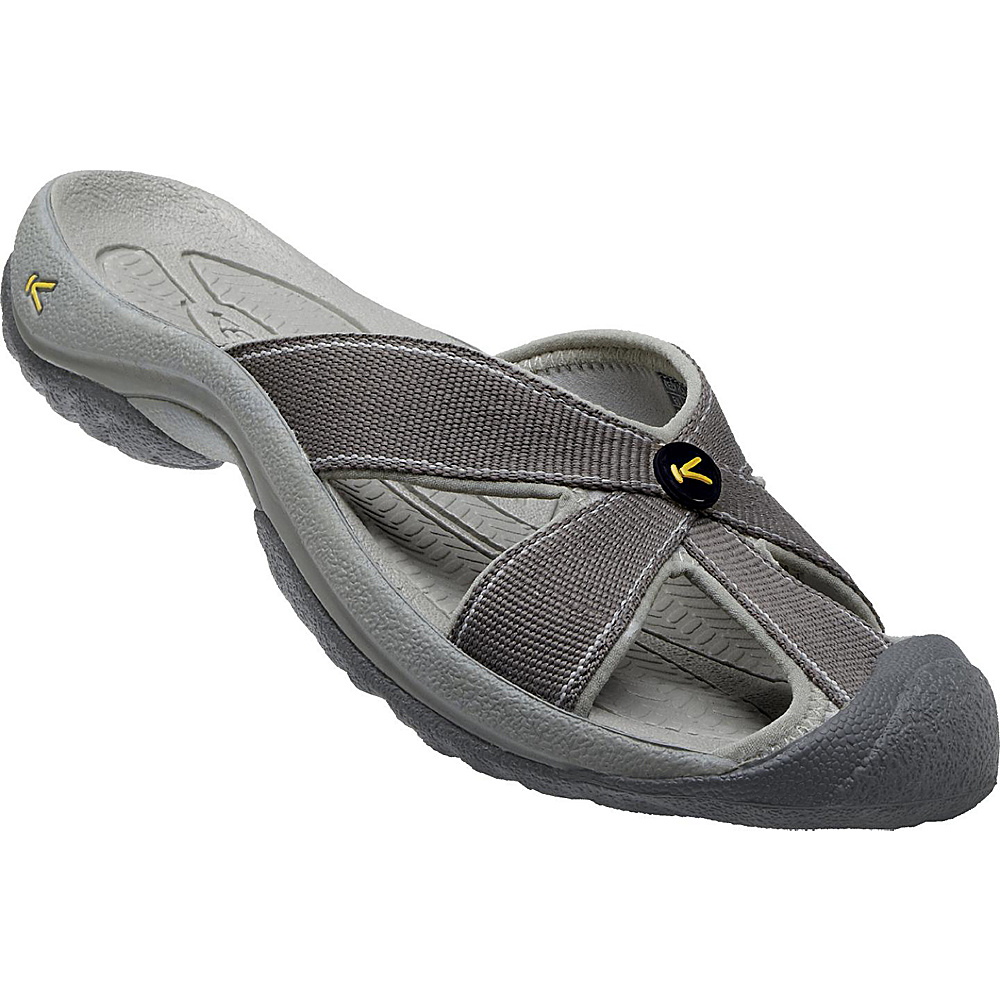KEEN Womens Bali Sandal 5.5 - Magnet/Neutral Gray - KEEN Womens Footwear - Apparel & Footwear, Women's Footwear