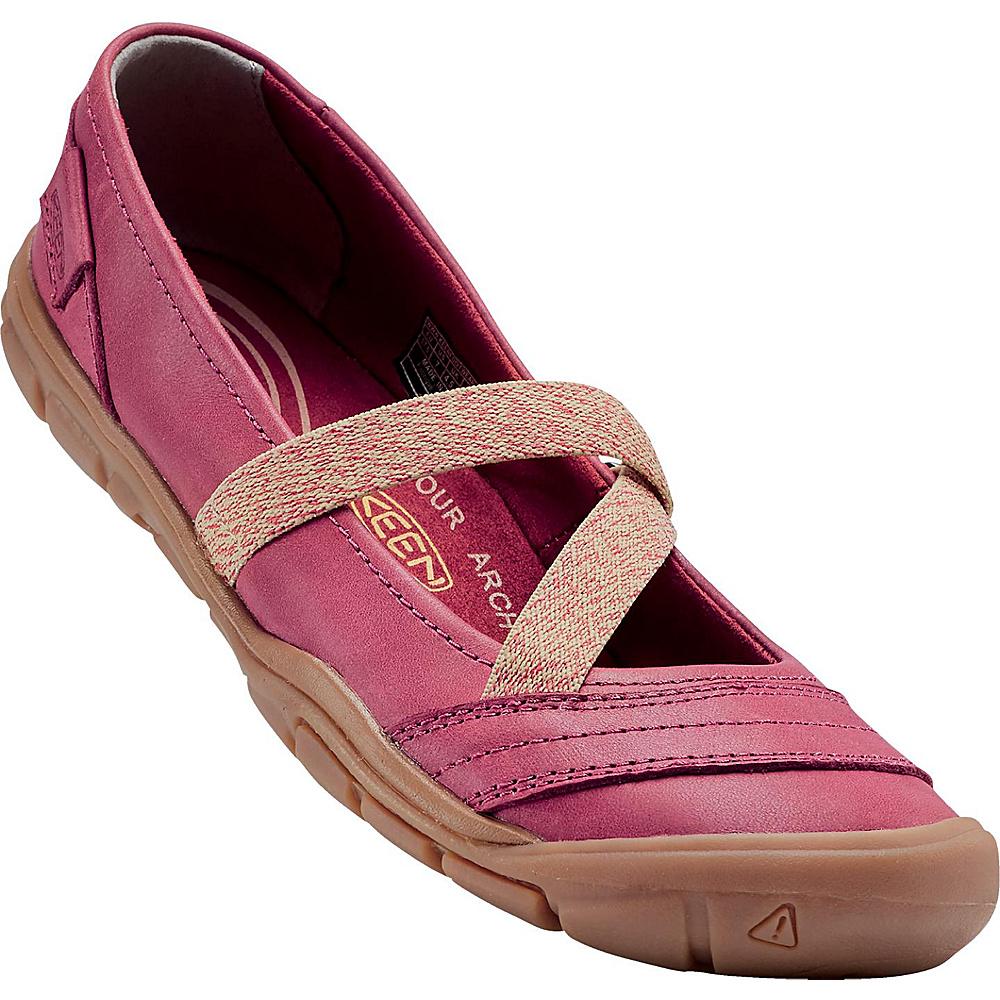 KEEN Womens Rivington II MJ CNX Slip-On 9.5 - Crimson - KEEN Womens Footwear - Apparel & Footwear, Women's Footwear