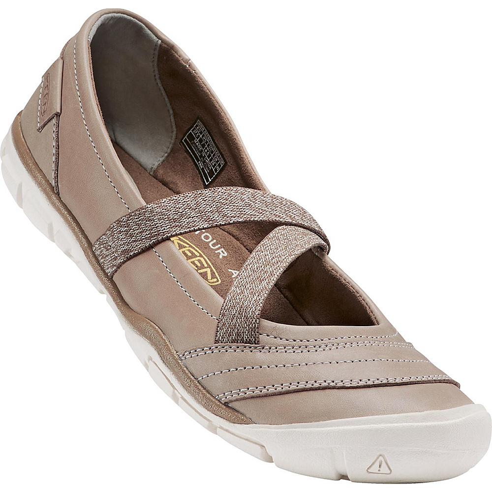 KEEN Womens Rivington II MJ CNX Slip-On 9.5 - Texas Sand - KEEN Womens Footwear - Apparel & Footwear, Women's Footwear