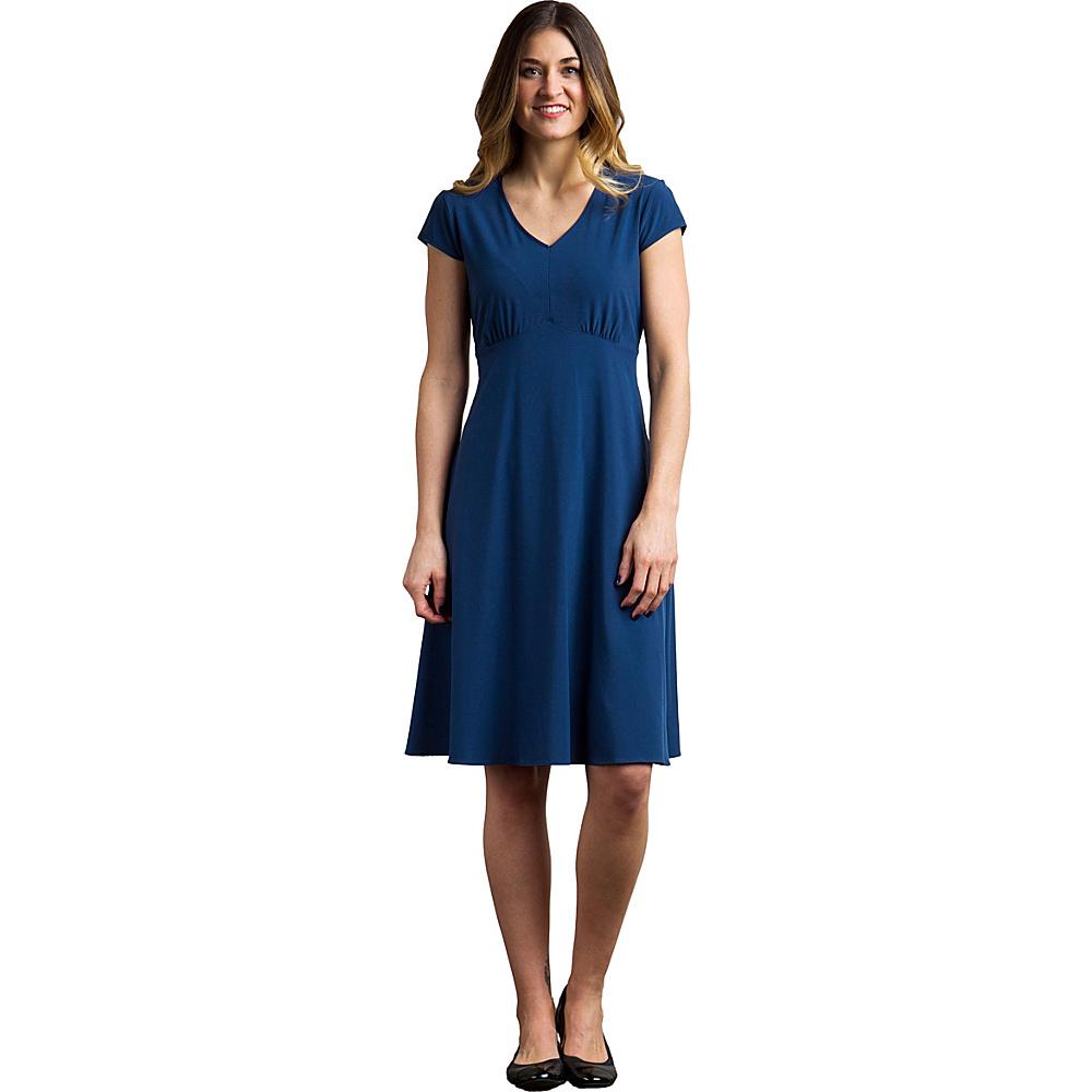 ExOfficio Womens Kizmet Cap Sleeve Dress 6 - Black - ExOfficio Womens Apparel - Apparel & Footwear, Women's Apparel