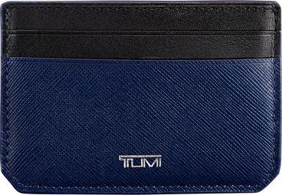 Tumi Mason Money Clip Card Case Indigo - Tumi Men's Wallets