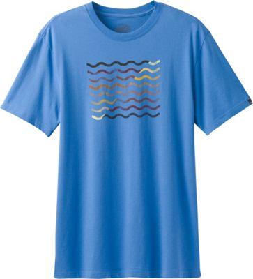 PrAna Flow T-Shirt XXL - Future Blue - PrAna Men's Apparel