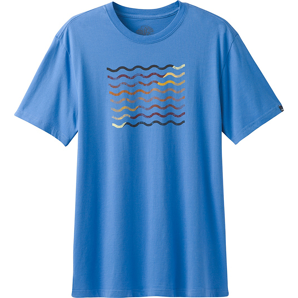 PrAna Flow T-Shirt XL - Future Blue - PrAna Mens Apparel - Apparel & Footwear, Men's Apparel