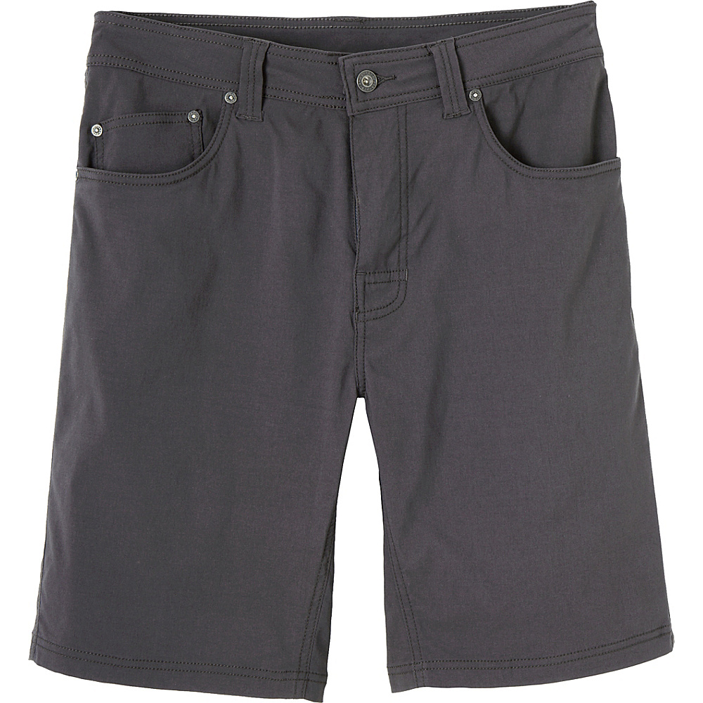 PrAna Brion Short - 11 Inseam 33 - Charcoal - PrAna Mens Apparel - Apparel & Footwear, Men's Apparel