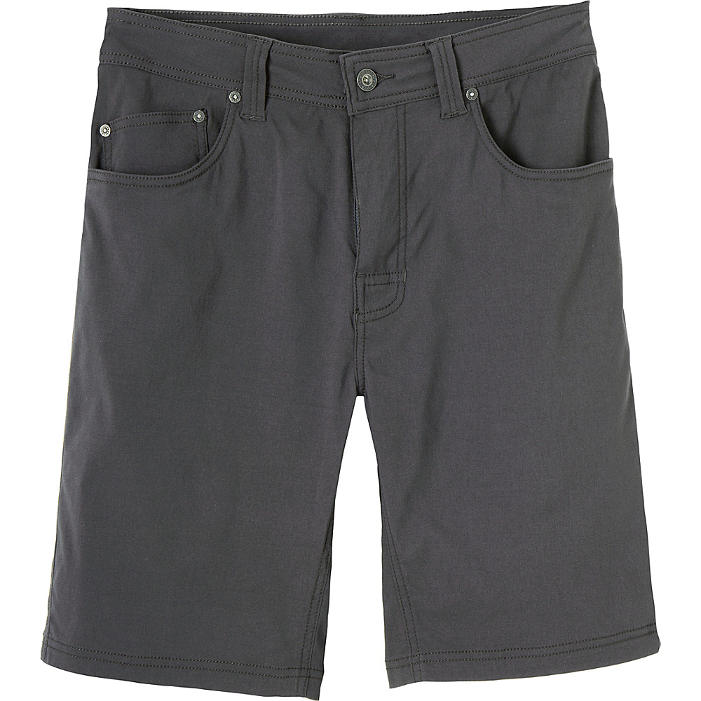 PrAna Brion Short - 11 Inseam 30 - Charcoal - PrAna Mens Apparel - Apparel & Footwear, Men's Apparel