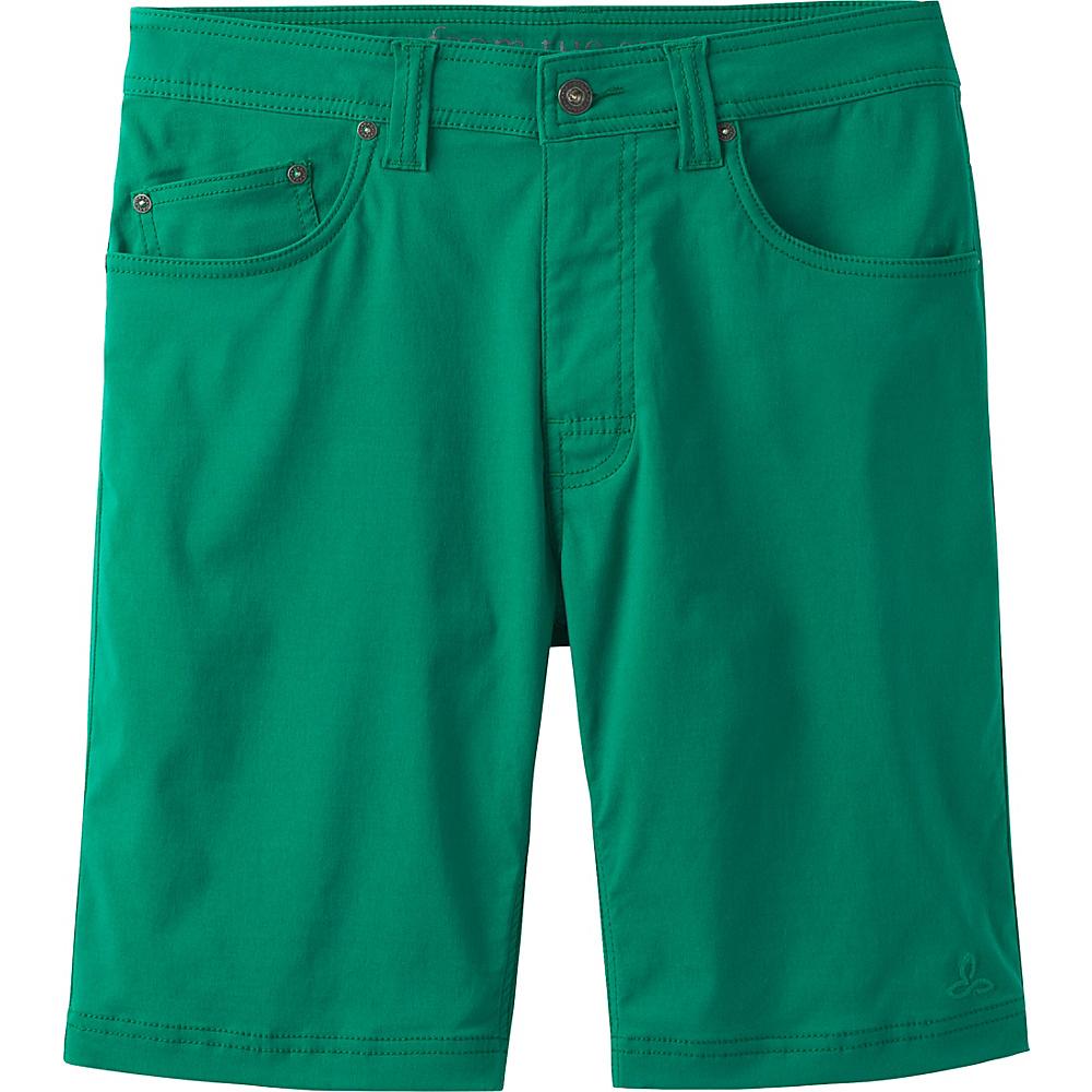 PrAna Brion Short - 11 Inseam 36 - Spruce - PrAna Mens Apparel - Apparel & Footwear, Men's Apparel