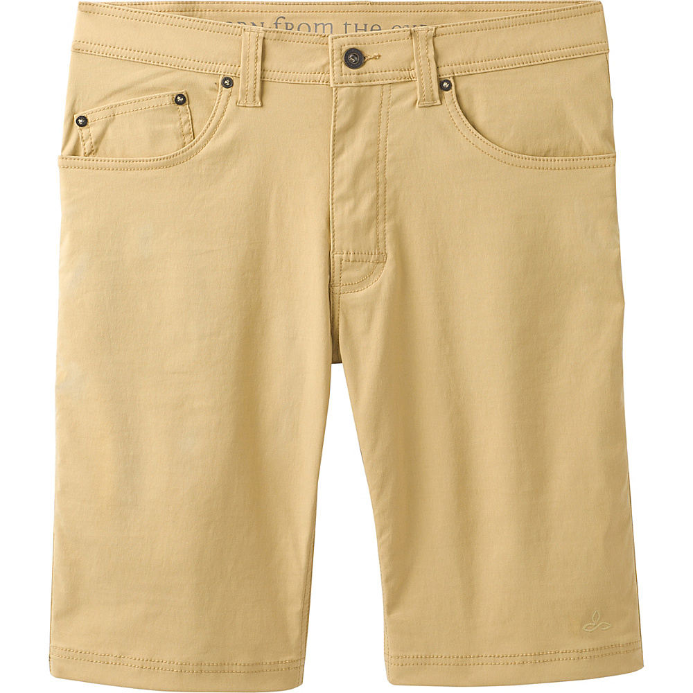 PrAna Brion Short - 11 Inseam 33 - Sandpiper - PrAna Mens Apparel - Apparel & Footwear, Men's Apparel