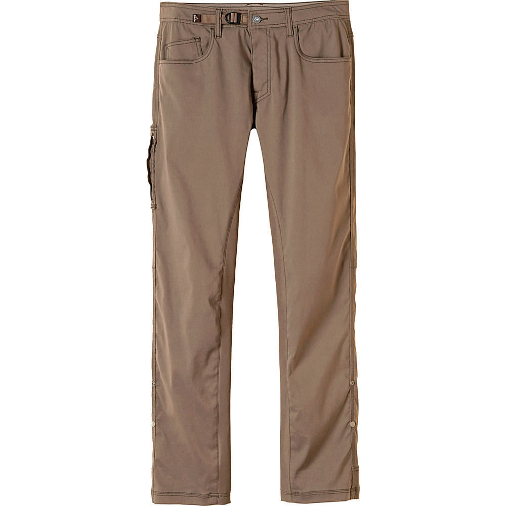 PrAna Zioneer Pant - 34 Inseam 34 - Mud - PrAna Mens Apparel - Apparel & Footwear, Men's Apparel