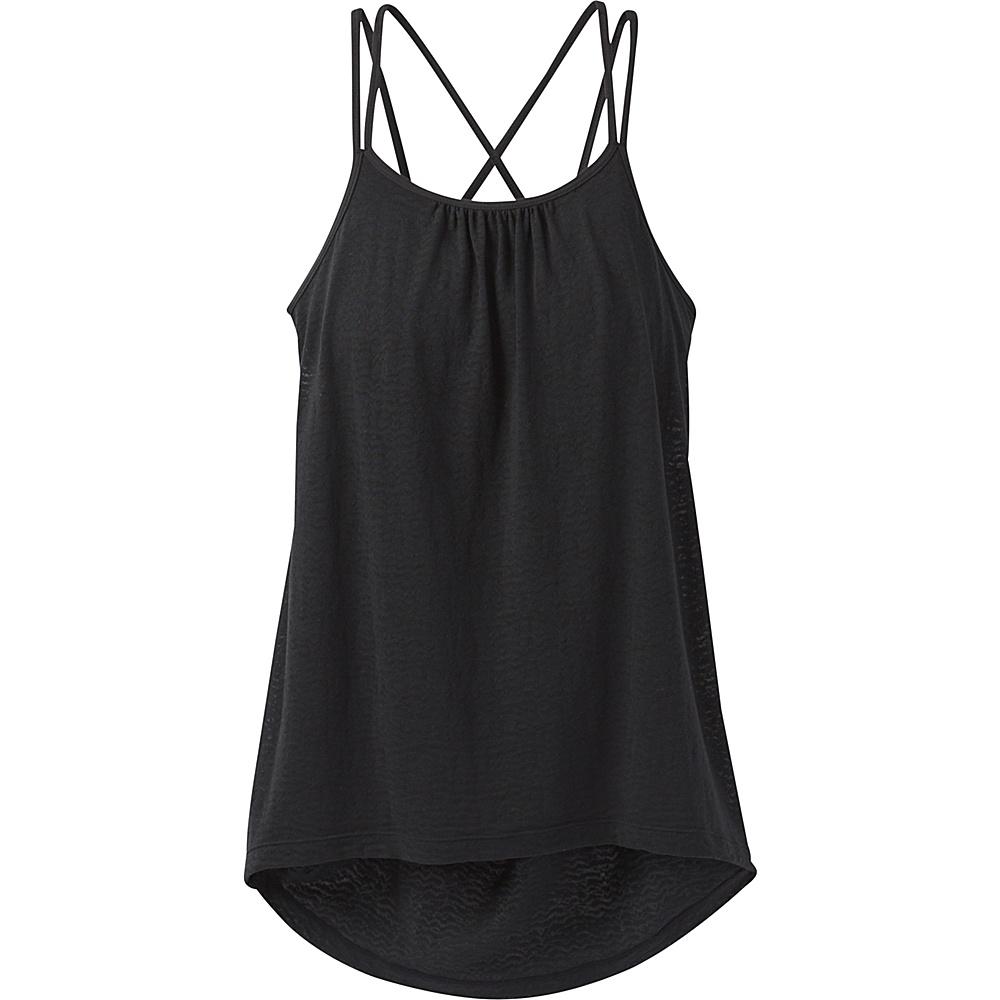 PrAna Mika Strappy Top L - Black - PrAna Womens Apparel - Apparel & Footwear, Women's Apparel