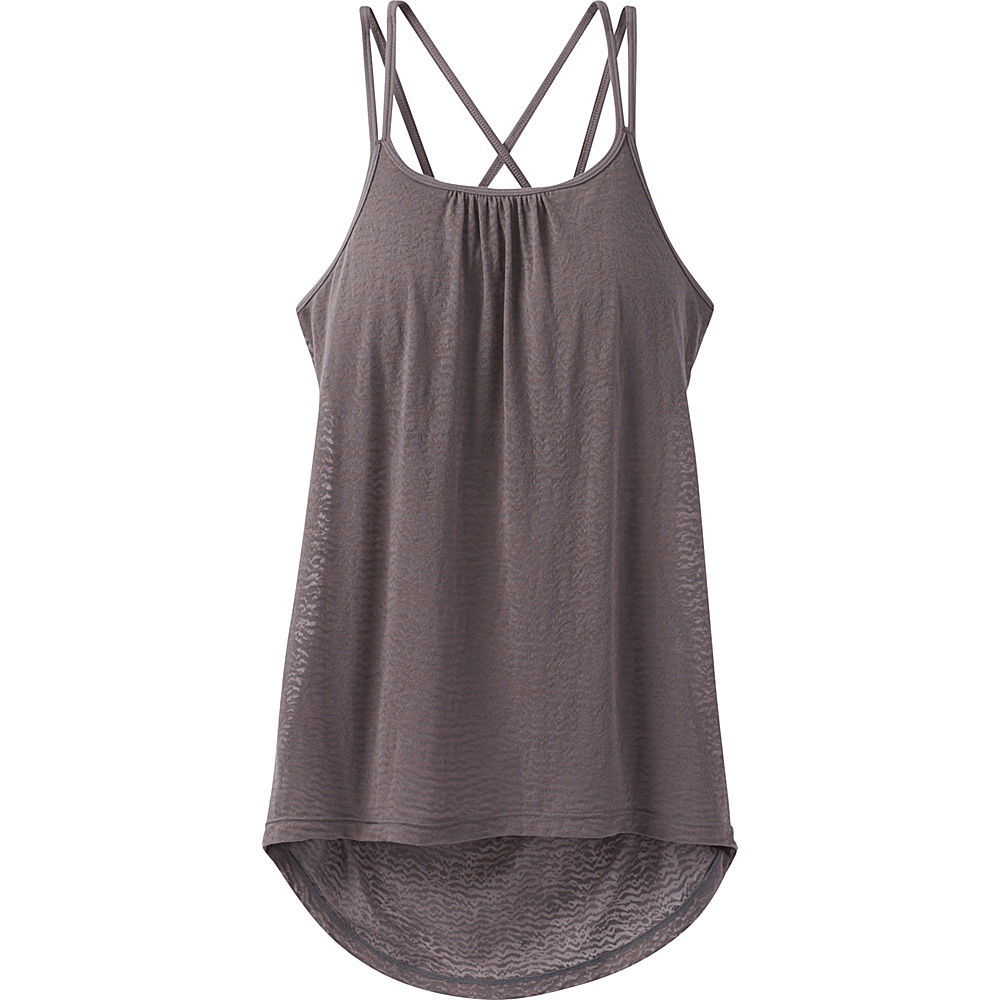 PrAna Mika Strappy Top M - Moonrock - PrAna Womens Apparel - Apparel & Footwear, Women's Apparel