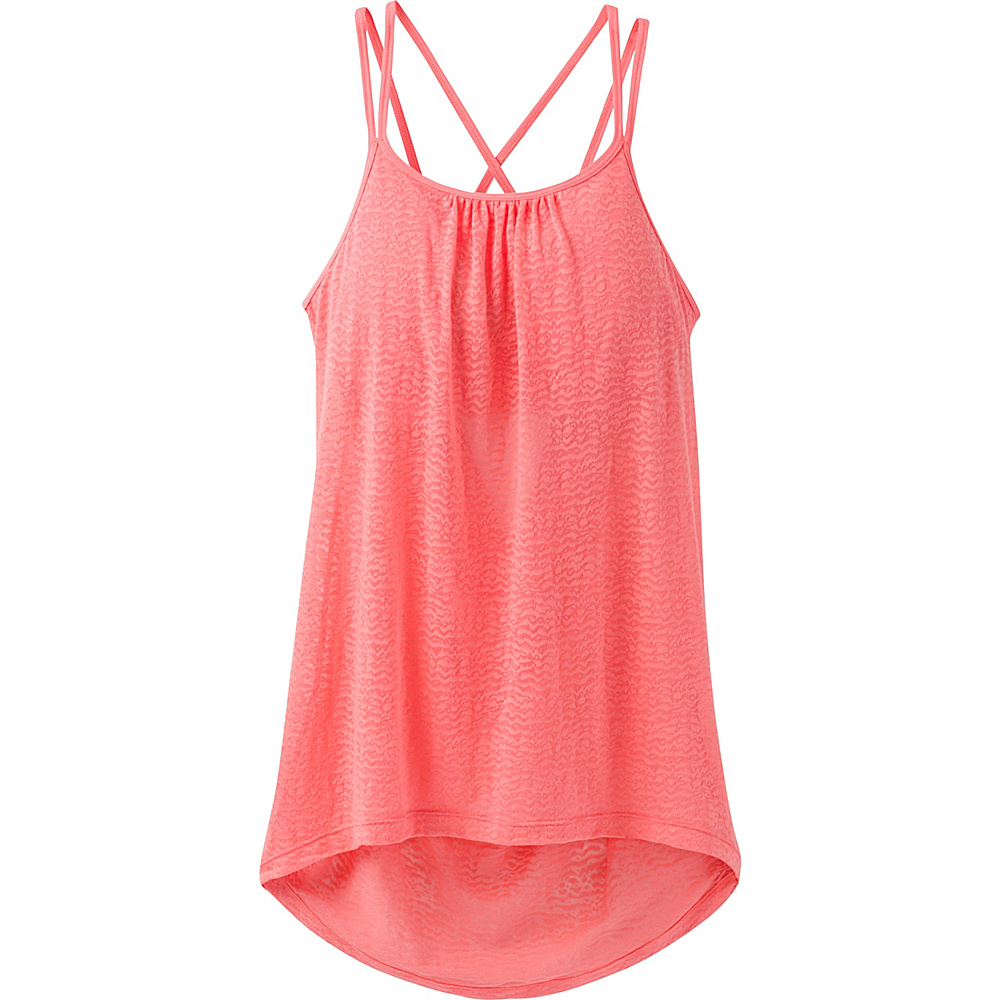 PrAna Mika Strappy Top S - Summer Peach - PrAna Womens Apparel - Apparel & Footwear, Women's Apparel