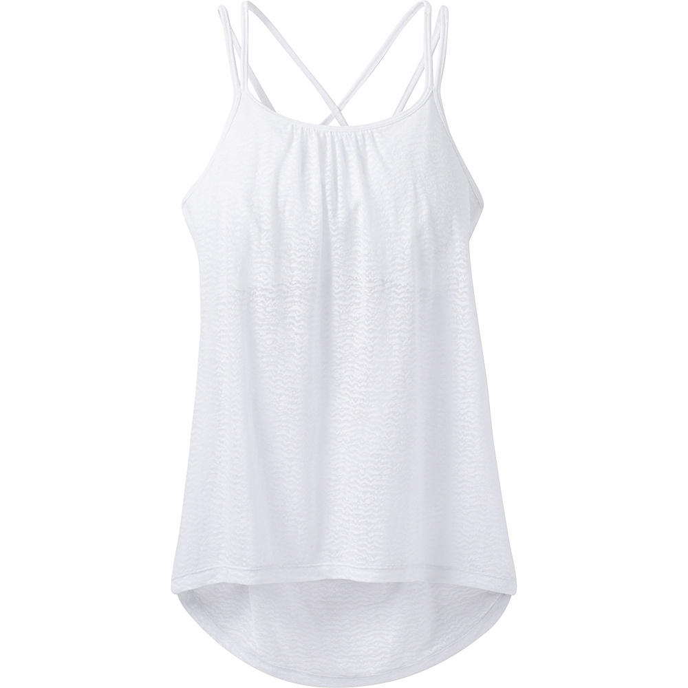 PrAna Mika Strappy Top XL - White - PrAna Womens Apparel - Apparel & Footwear, Women's Apparel
