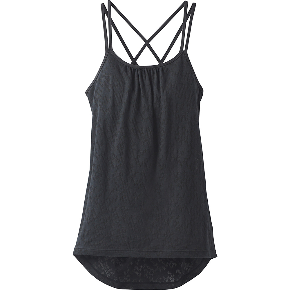 PrAna Mika Strappy Top XL - Black Puzzled - PrAna Womens Apparel - Apparel & Footwear, Women's Apparel