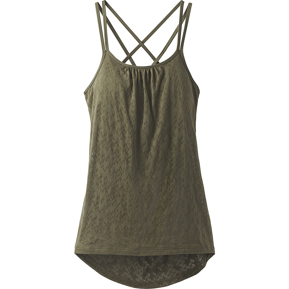 PrAna Mika Strappy Top S - Cargo Puzzled - PrAna Womens Apparel - Apparel & Footwear, Women's Apparel