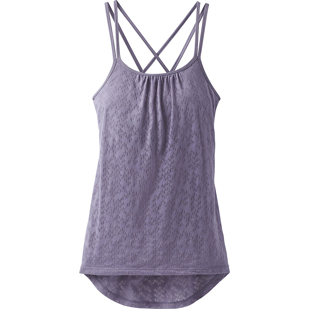 PrAna Mika Strappy Top S - Purple Puzzled - PrAna Womens Apparel - Apparel & Footwear, Women's Apparel