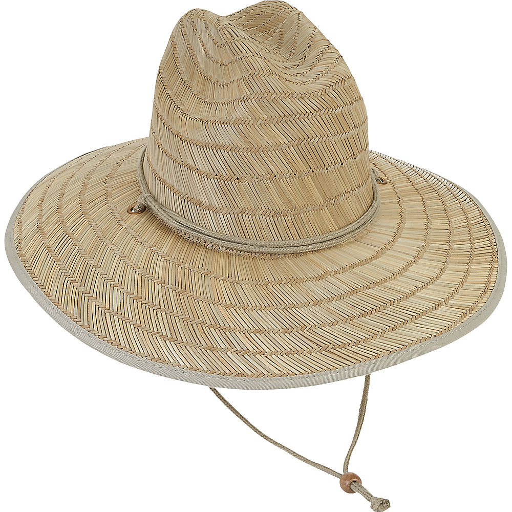 Sun N Sand Beach Western Lifeguard Hat Natural - Sun N Sand Hats/Gloves/Scarves - Fashion Accessories, Hats/Gloves/Scarves