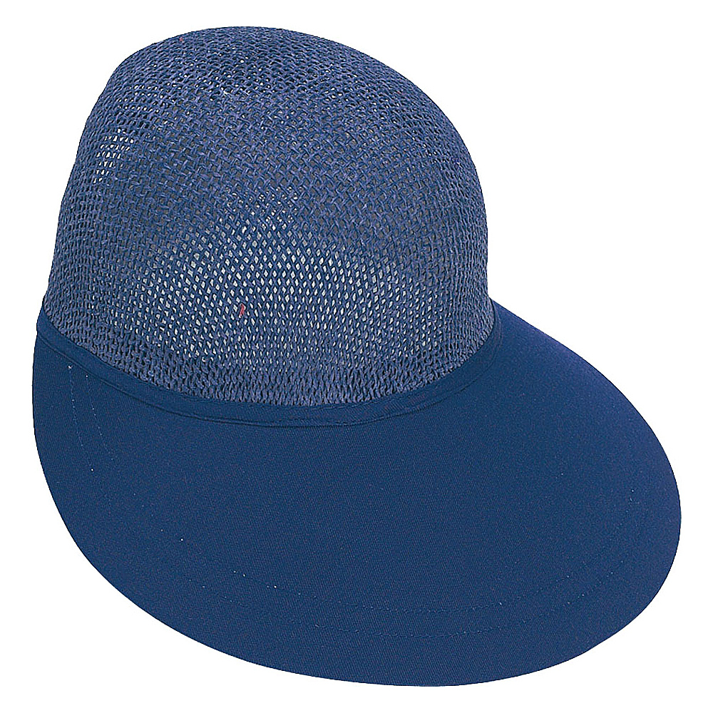 Sun N Sand Visor N-Navy - Sun N Sand Hats/Gloves/Scarves - Fashion Accessories, Hats/Gloves/Scarves