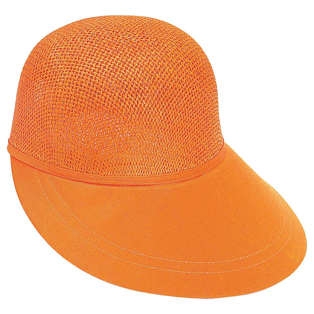 Sun N Sand Visor Orange - Sun N Sand Hats/Gloves/Scarves - Fashion Accessories, Hats/Gloves/Scarves