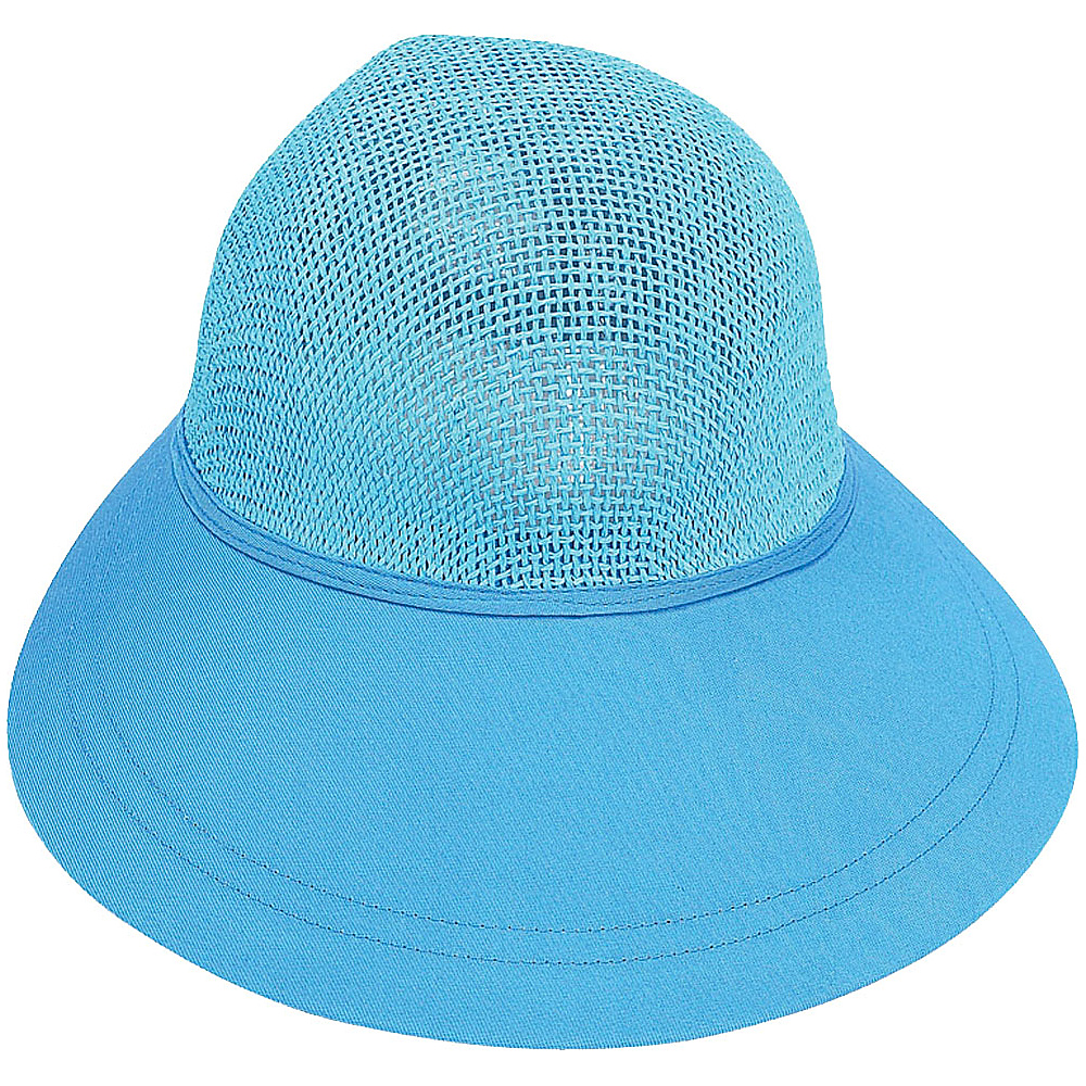 Sun N Sand Visor T-Turquoise - Sun N Sand Hats/Gloves/Scarves - Fashion Accessories, Hats/Gloves/Scarves