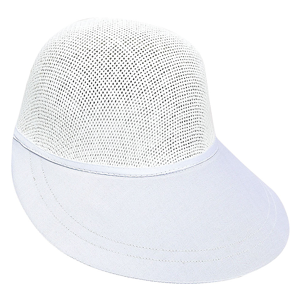 Sun N Sand Visor W-White - Sun N Sand Hats/Gloves/Scarves - Fashion Accessories, Hats/Gloves/Scarves