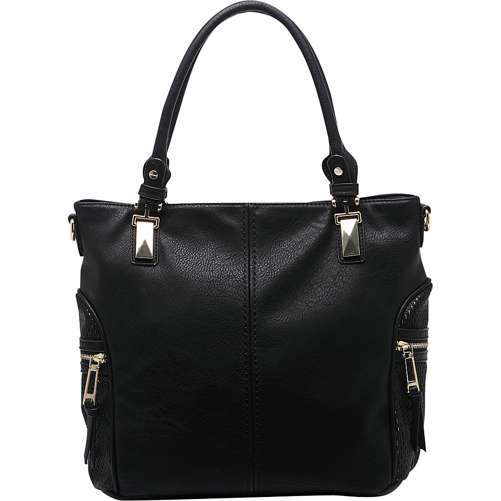 MKF Collection by Mia K. Farrow Avlyn Shoulder Bag Black - MKF Collection by Mia K. Farrow Manmade Handbags - Handbags, Manmade Handbags