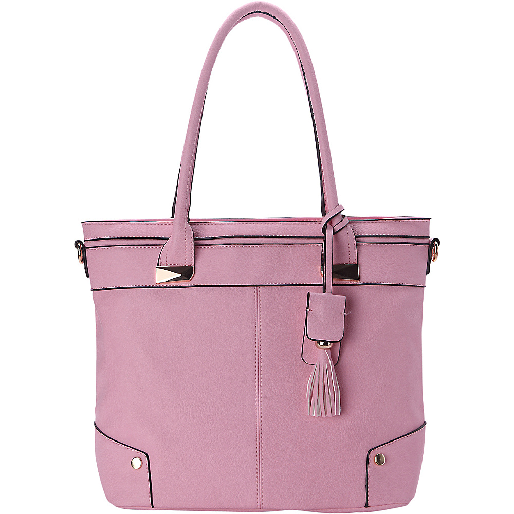MKF Collection by Mia K. Farrow Zayla Tote Pink - MKF Collection by Mia K. Farrow Manmade Handbags - Handbags, Manmade Handbags