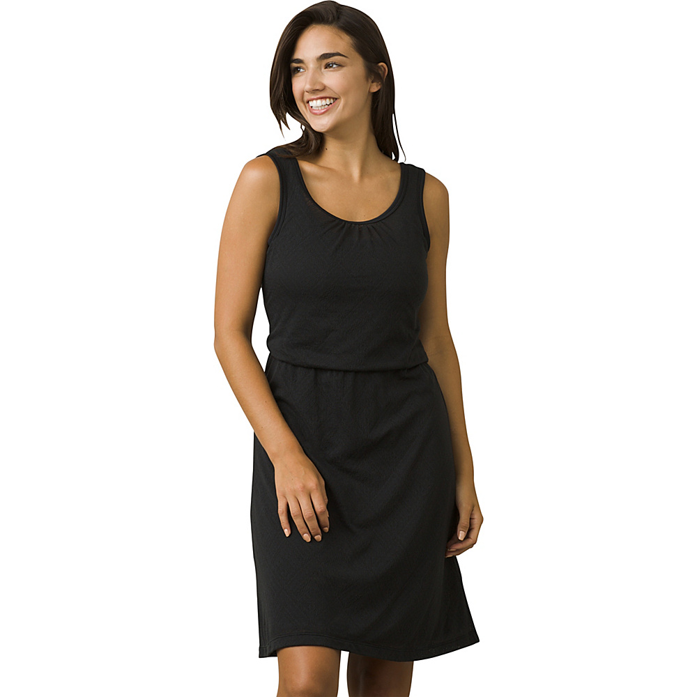 PrAna Mika Dress S - Black Copa - PrAna Womens Apparel - Apparel & Footwear, Women's Apparel