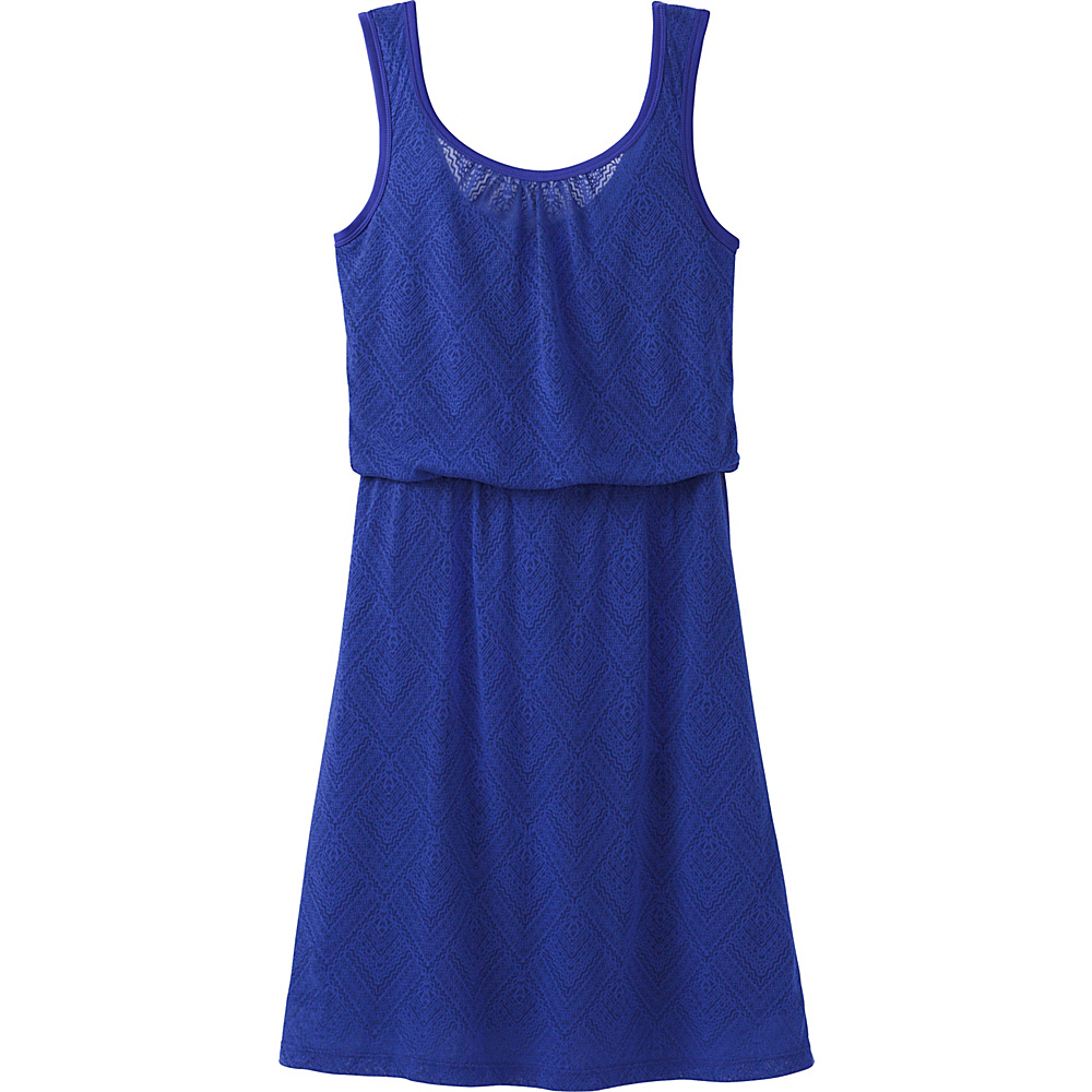 PrAna Mika Dress S - Cobalt Copa - PrAna Womens Apparel - Apparel & Footwear, Women's Apparel