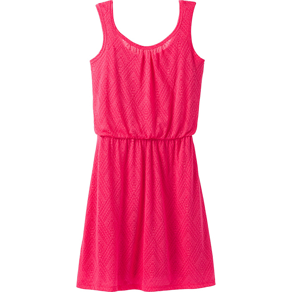 PrAna Mika Dress L - Cosmo Pink Copa - PrAna Mens Apparel - Apparel & Footwear, Men's Apparel