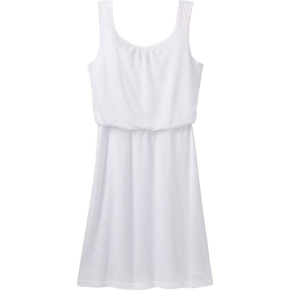 PrAna Mika Dress S - White Copa - PrAna Mens Apparel - Apparel & Footwear, Men's Apparel