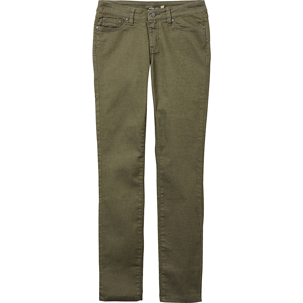 PrAna Kayla Jean - Regular Inseam 0 - Cargo Green - PrAna Womens Apparel - Apparel & Footwear, Women's Apparel
