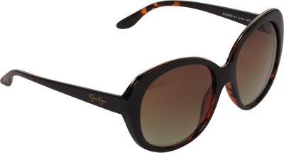 Jessica Simpson Sunwear Glam Plastic Sunglasses Black / Tortoise - Jessica Simpson Sunwear Eyewear