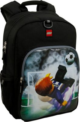 LEGO LEGO Soccer Kick Heritage Classic Backpack Black - LEGO School & Day Hiking Backpacks