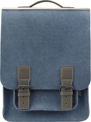 Mad Rabbit Kicking Tiger Kendrick Backpack Skyscraper Blue - Mad Rabbit Kicking Tiger Laptop Backpacks