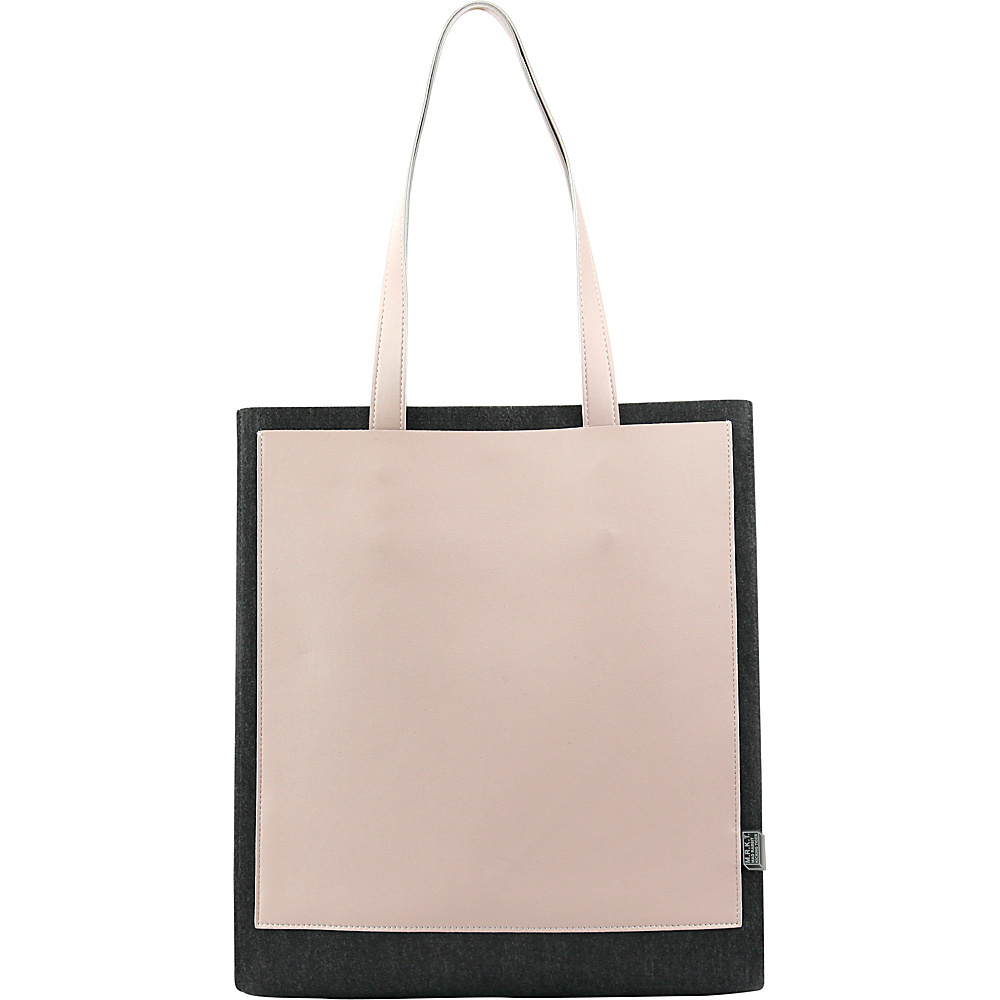 Mad Rabbit Kicking Tiger Clark Tote Charcoal Desert Rose Mad Rabbit Kicking Tiger Manmade Handbags