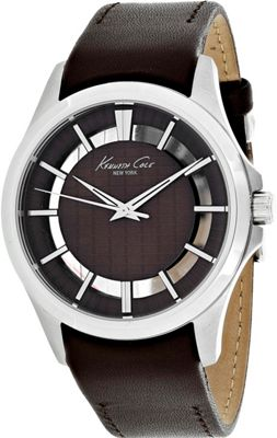 Kenneth Cole Watches Men's Transparency Watch Brown - Kenneth Cole Watches Watches
