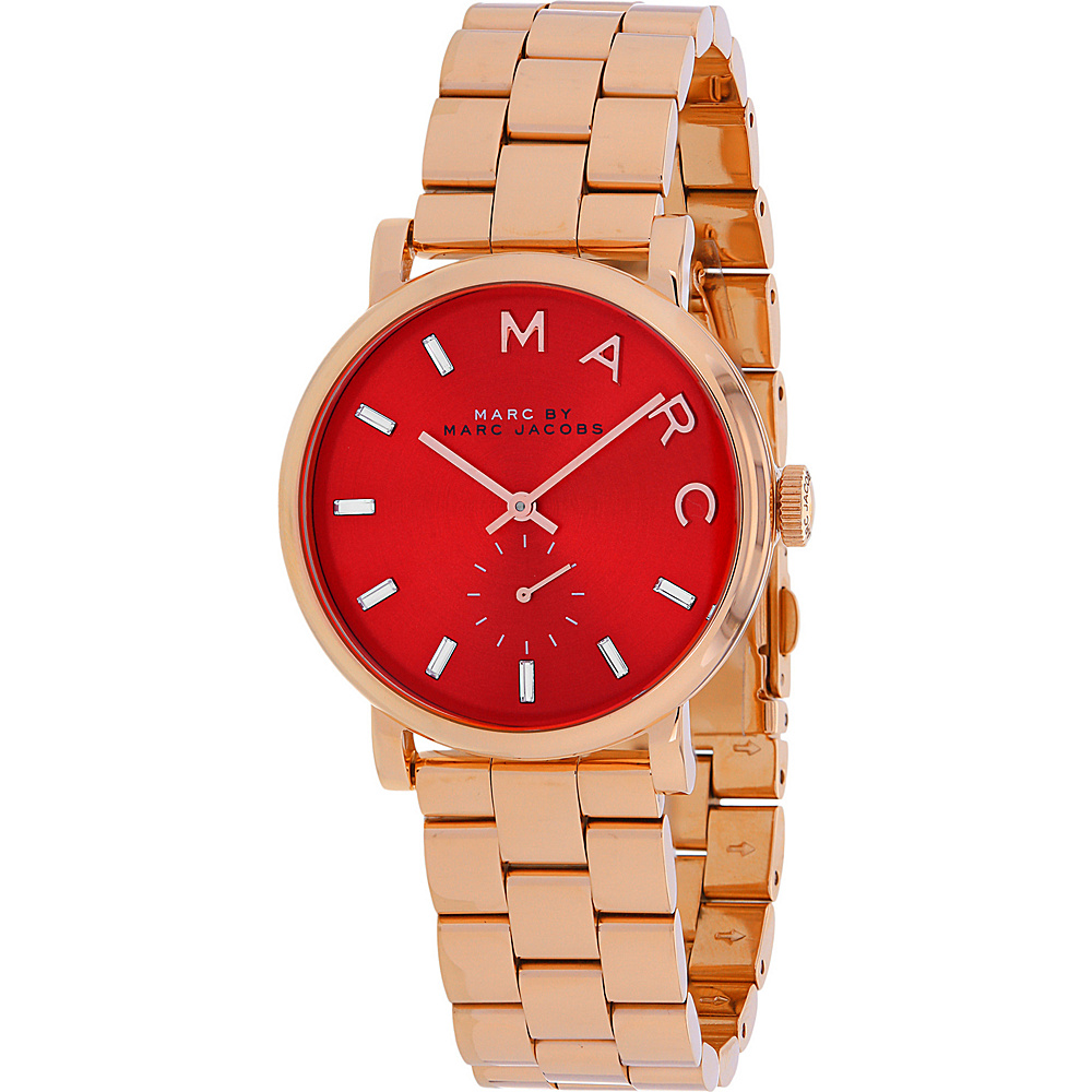 Marc Jacobs Watches Women's Baker Watch Red - Marc Jacobs Watches Watches
