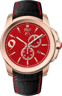 Jivago Watches Men's Gliese Watch Red - Jivago Watches Watches