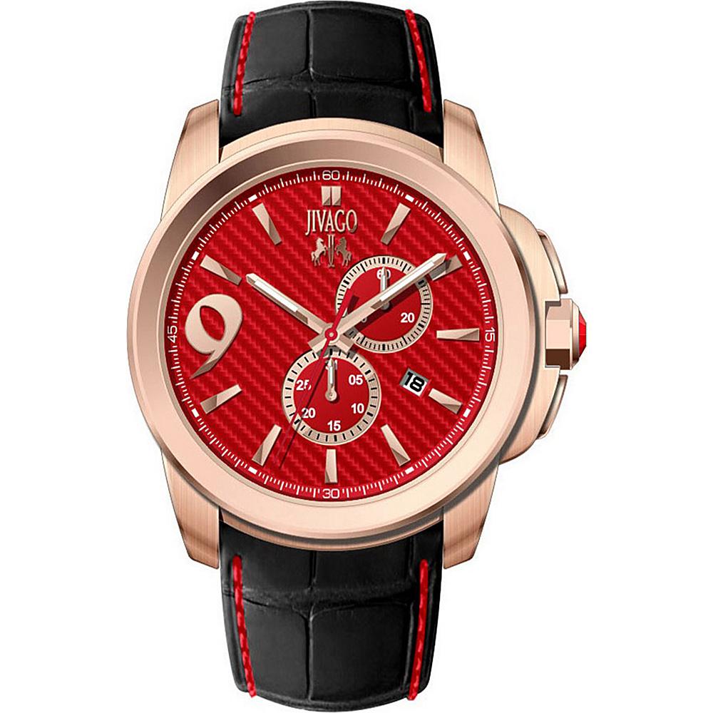 Jivago Watches Men s Gliese Watch Red Jivago Watches Watches