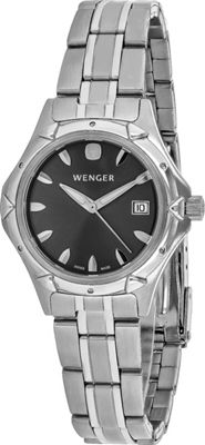 Wenger Watches Women's WR100 Watch Grey - Wenger Watches Watches