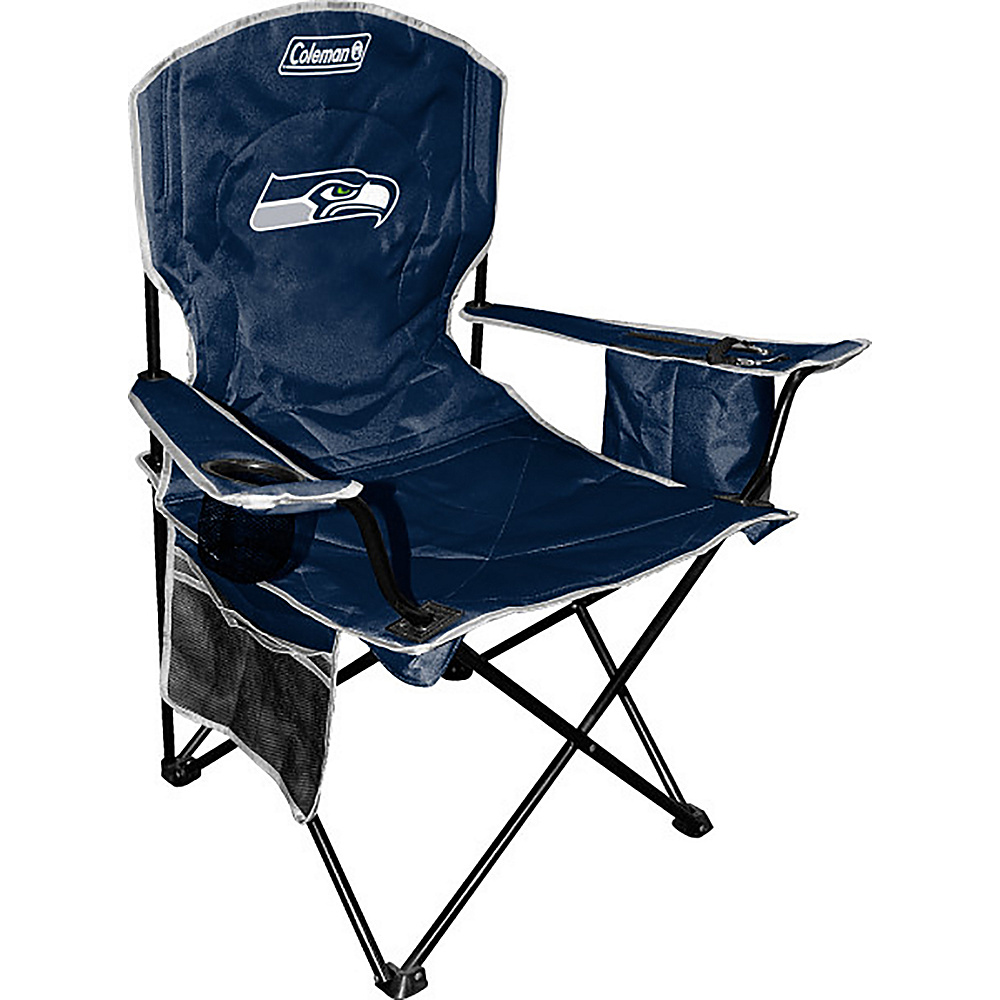 Rawlings Sports NFL Cooler Quad Chair Seattle Seahawks Rawlings Sports Outdoor Accessories