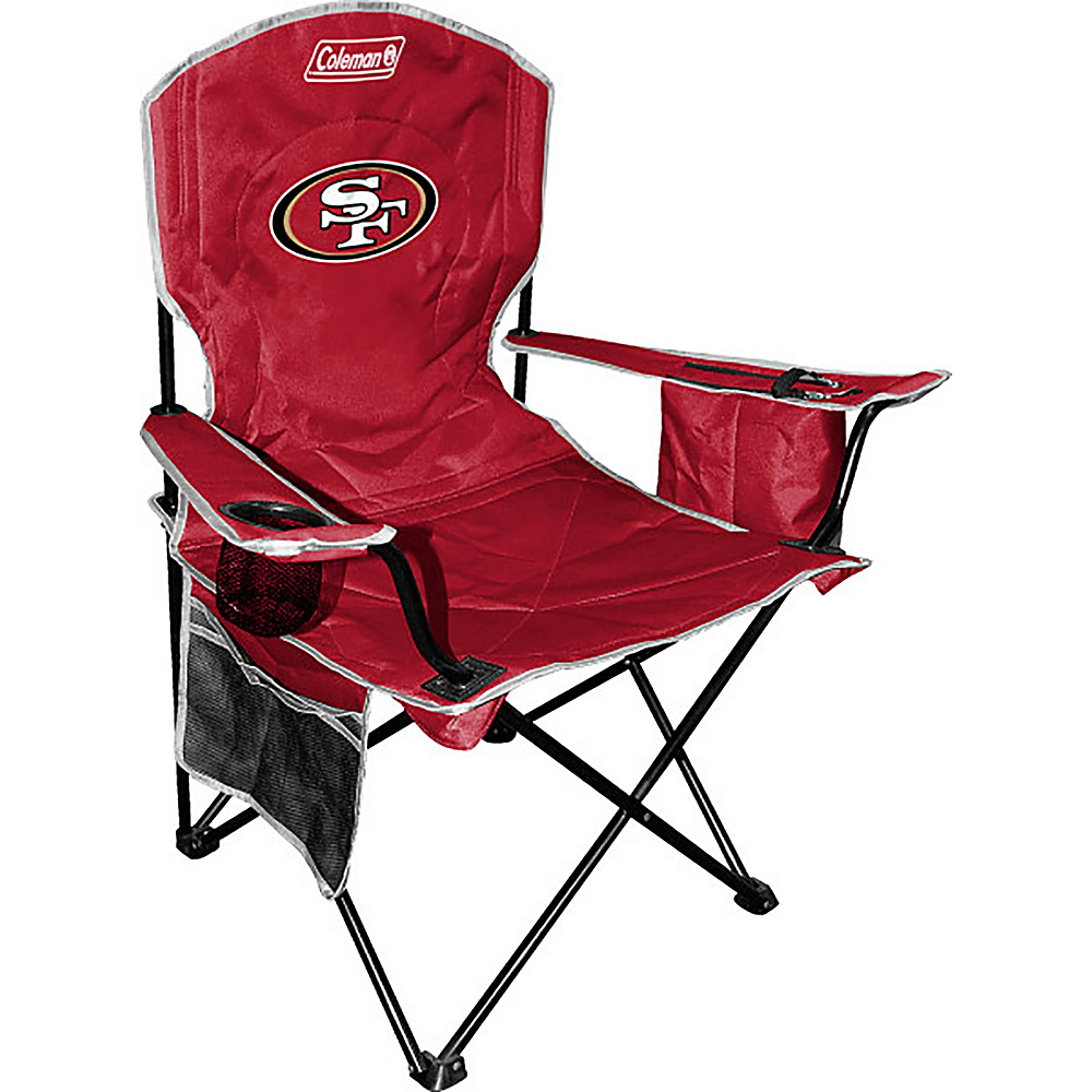 Rawlings Sports NFL Cooler Quad Chair San Francisco 49ers Rawlings Sports Outdoor Accessories