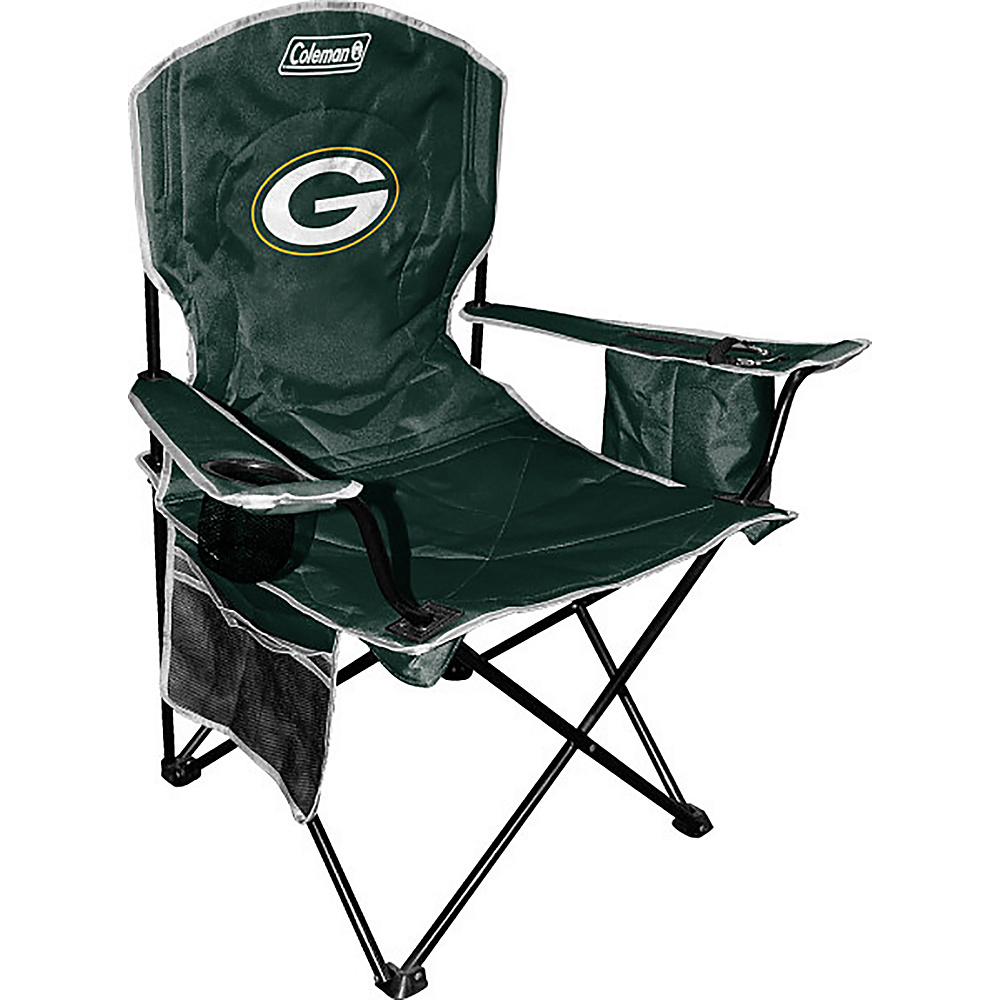 Rawlings Sports NFL Cooler Quad Chair Green Bay Packers Rawlings Sports Outdoor Accessories