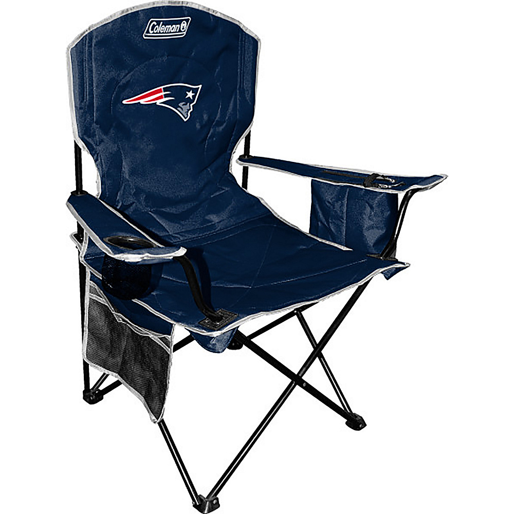 Rawlings Sports NFL Cooler Quad Chair New England Patriots Rawlings Sports Outdoor Accessories