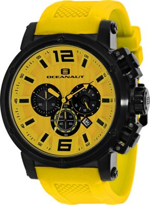 Oceanaut Watches Men's Spider Watch Yellow - Oceanaut Watches Watches