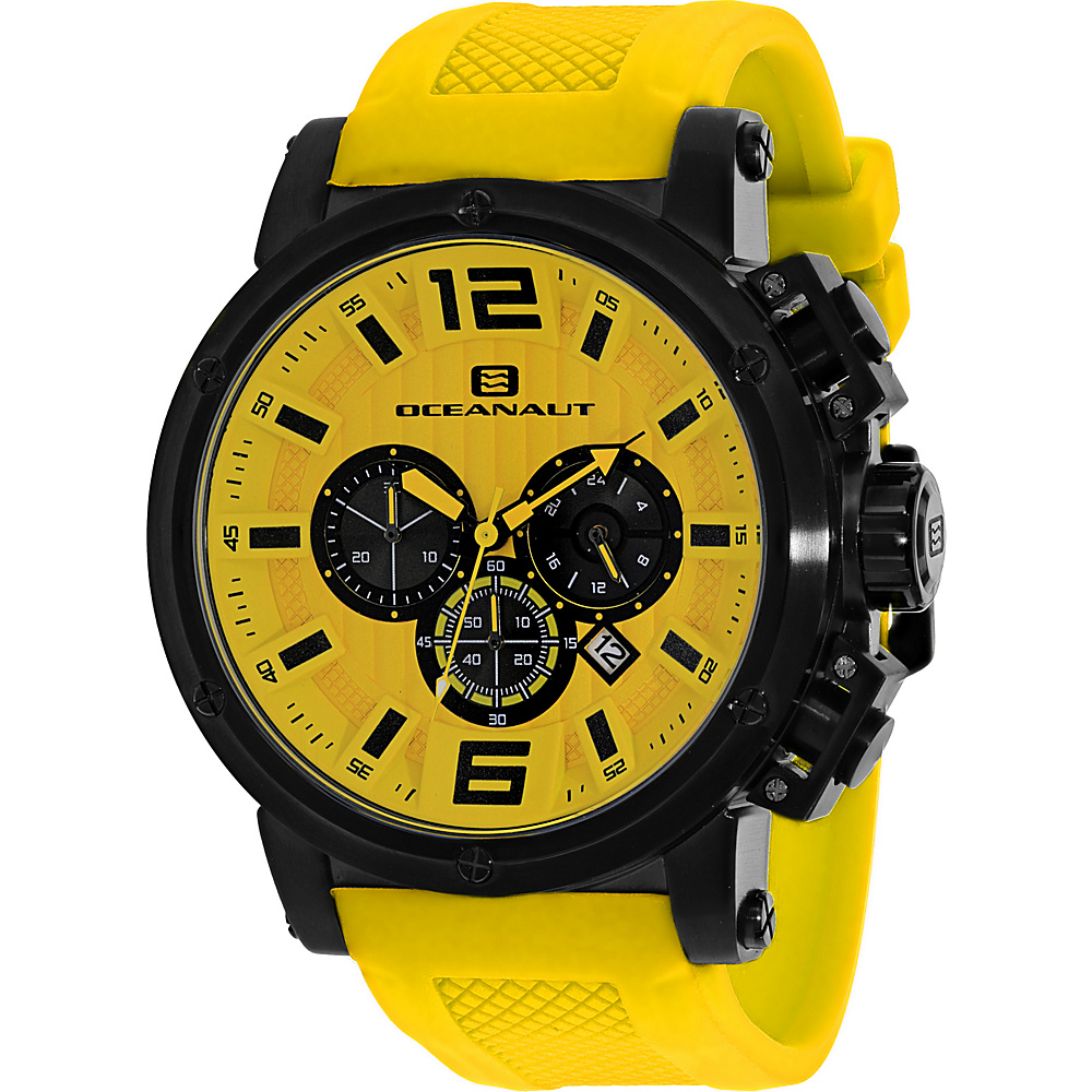 Oceanaut Watches Men s Spider Watch Yellow Oceanaut Watches Watches
